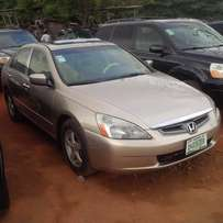 Nigerian Used Honda Accord, 2005. End Of Discussion (EOD).