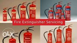Fire Extinguisher & Other Fire Equipment Inspection Testing Servicing