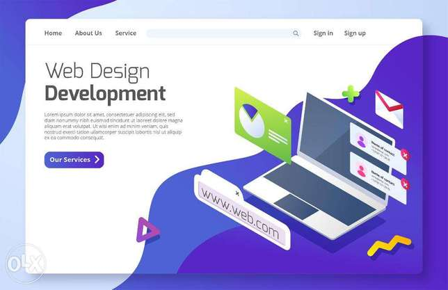 Web Designer available for hire