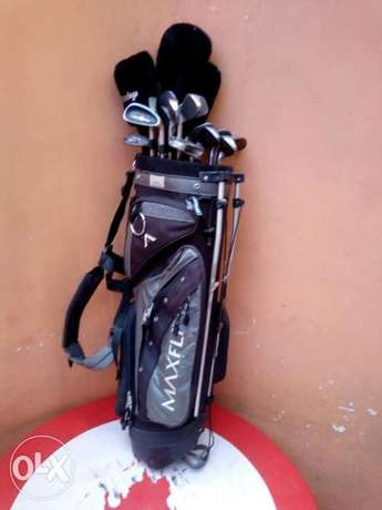 Selling Golf Kit including golf clubs, and golf pouch. Township - image 2