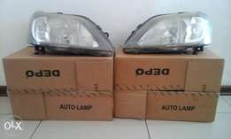 Nissan NP 200 head lamps for sale R600 negotiable