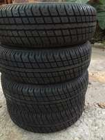 brand new tires plus rims 13x165x70