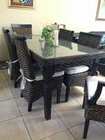 Dining room table 6 set