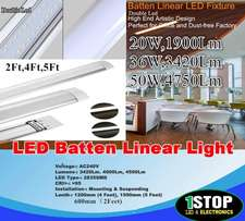 NEW (Double led) LED Batten Tube Linear Light Slim Ceiling Fluorescent