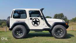 Jeep Wrangler Mountain Sport.