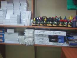 Binding machine,laminator and stationaries