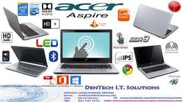 Demo Latest Acer Aspire TouchScreen+HD Audio+Aluminum Chassis+12 Month