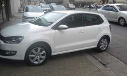 Vw polo 6 1.6 white in color hatshback 2011 model 78000km R125000