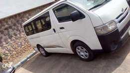 Newly bought Toyota Hiace, 2014 model,still superb and clean