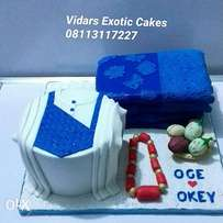 Traditional marriage cake