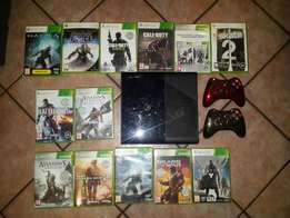 Xbox 360 + lots of games