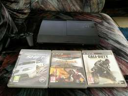 Ps3 with 3 games