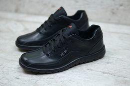 Ecco мужские кожаные кроссовки Ecco Adidas b778f47485ec1