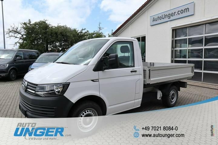 Volkswagen T6 Transporter Pritsche Eka KR DSG Klima SHZ AHK - 2018