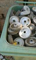 Rubber and plastic wheels for sale
