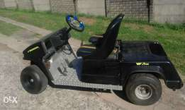 Golf cart with motorbike VF400 motor