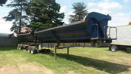 2006 top trailer side tipper link with super singles