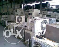 We purchase old AC scrap in good price