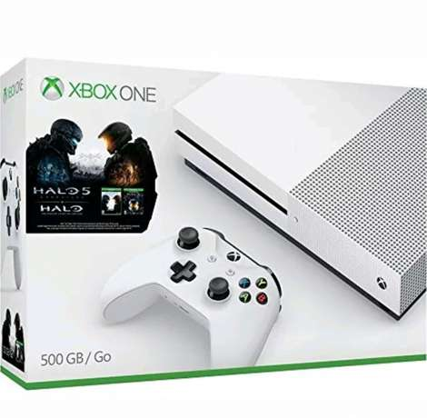 Xbox one s slim with 4k new white in colour Nairobi CBD - image 1