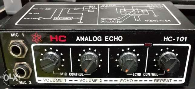 Analog echo/repeater