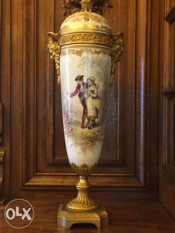 authentic porcelain de Sevres vase 19th century