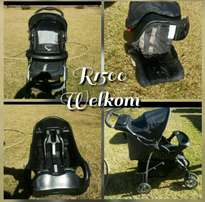 Graco Pram carseat & booster seat