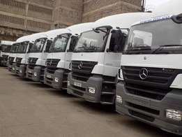 2010 Mercedes actros and axor