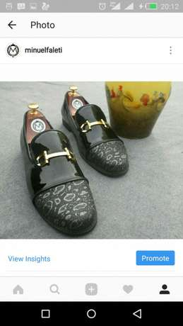 Patient & skin cap toe loafers Mushin - image 1