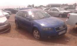 2004 audi a3 2.0 tdi code 2 striping for spares