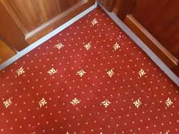 We install Wall to Wall Carpets and Window Blinds.