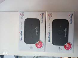 Spectranet Mifi, #20000 with 40GB and #25000 with Unlimited. Order now