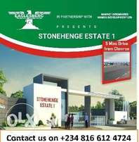 Estate Land Near Chevron Toll gate Lekki by Orchid Hotel Road for Sale
