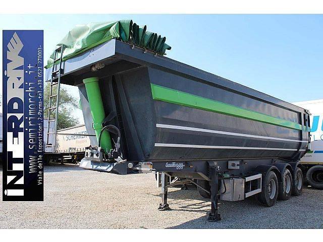 semirimorchio vasca ribaltabile 42 m3 cargotrailer - 2004