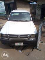 A neatly used Toyota hilux for sale.