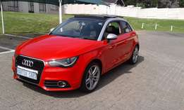 2012 audi a1 1.4 93kw tfsi panaromic sunroof red