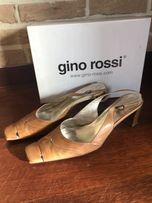 8a4afe52fd113 Czółenka GINO ROSSI skóra bez pięt sandały 39 jak nowe
