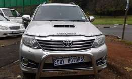 2013 model Toyota Fortuner 3.0 D4D DIESEL AUTOMATIC L.T.D/EDITION