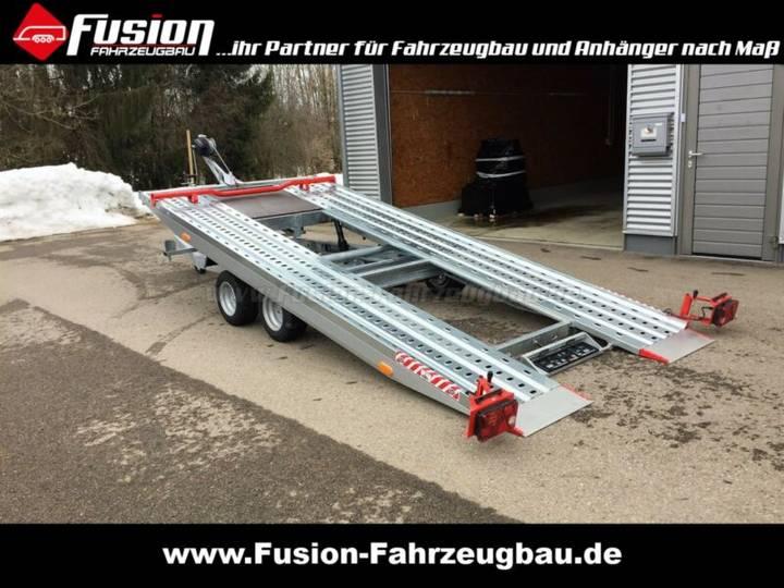 Vezeko kippbarer Autotransporter 500x209 cm, 2.700kg