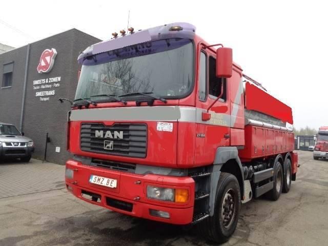 "MAN 27.364 6x4 Fosse Septic-septical Tank Steel 257""km - 2001"