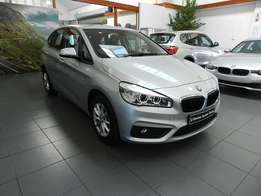BMW 220i Active Touter 2017 model with 82 km on