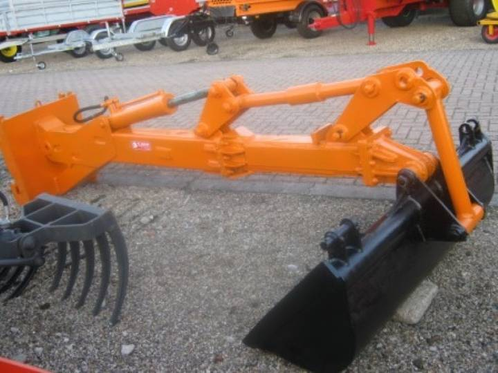 Arm verleng crane  for agromech excavator