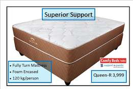 Superior Support Queen sets at factory low prices