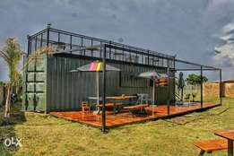 Container cafe for sale