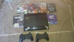 PS3 500GB + 2x Wireless Controllers