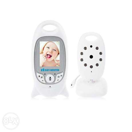 Audio Visual Night Vision Baby Monitor For Infants
