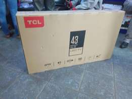 Offer:TCL 43 Inch Digital Tv Brand New