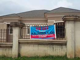 3bedroom detached bungalow with two bedrooms BQ in qwarinpa Abuja