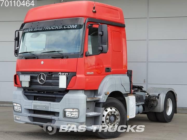 Mercedes-Benz Axor 1840 LS 4X2 3-Pedals Hydraulik Compressor Euro 3 - 2005
