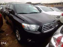 2009 Black Toyota Highlander AWD