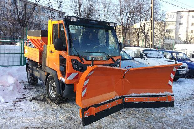 MULTIFUNCTIONAL de capacitate mica snowblower